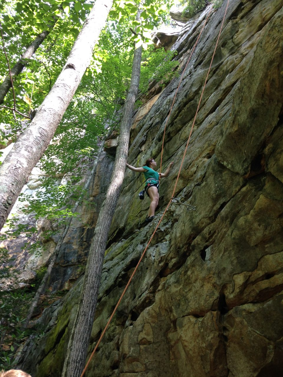 ce86c3aaa8c Five full days of guided climbing, hiking, and instruction. Transportation  Camping Accommodations