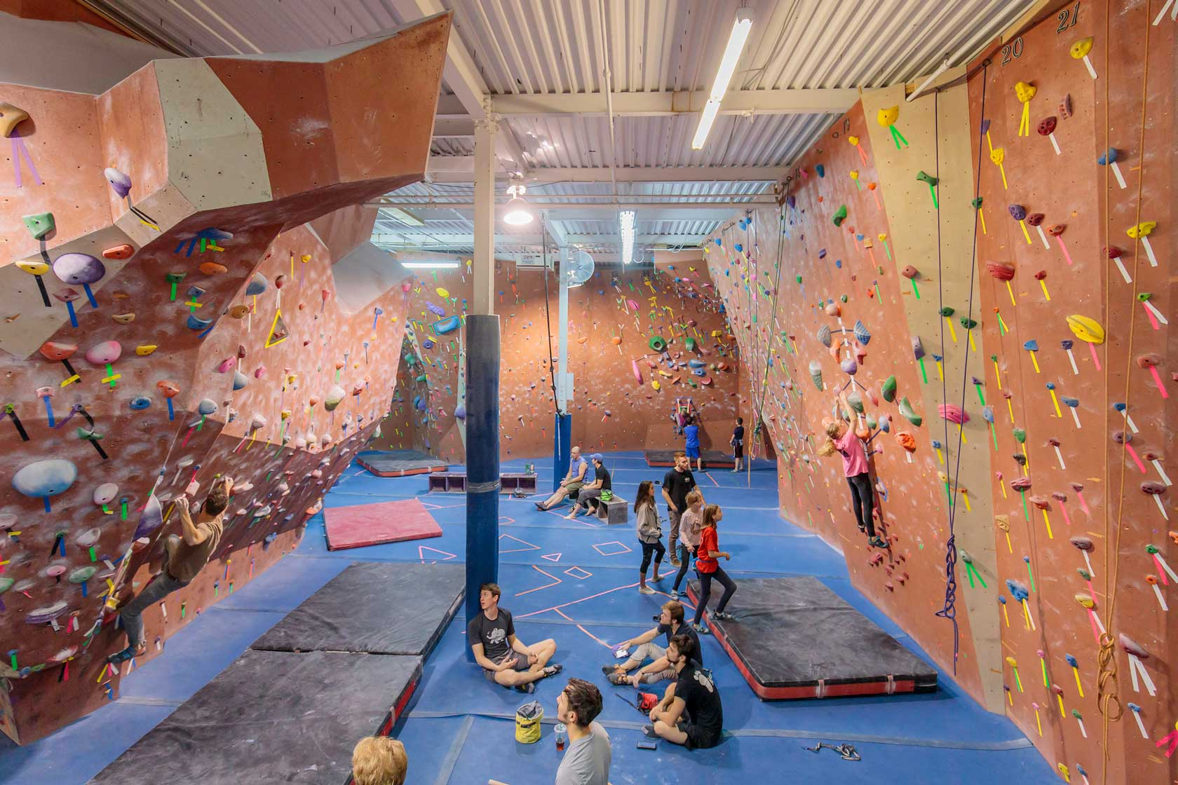 Image result for Philadelphia Rock Gym philadelphia